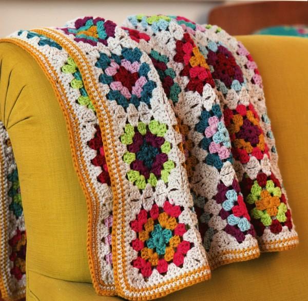 Emma Varnam Crochet Granny Square Blanket